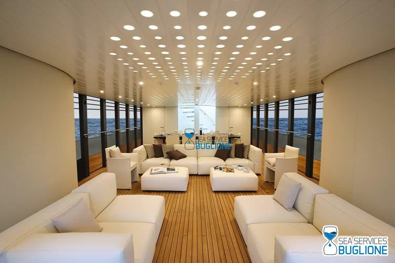 Yacht design sul mare come a casa abitare